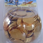 Coins in Drums